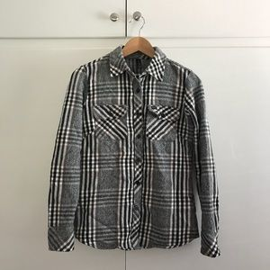RVCA Flannel Shirt Jacket